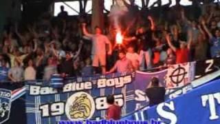 preview picture of video 'Bad Blue Boys in Sarajevo - Dinamo v Zeljeznicar'