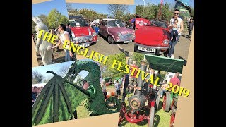 UK. The English Festival 2019. Retro Cars. Morris Dancers. Fun for the whole family
