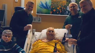 Dad Passed Away With a Smile After Drinking Beer With Family