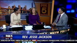 Rev. Jesse Jackson supports Oprah for President