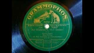 Paul Godwins Jazz Symphoniker   Max Hansen   Auf Wiedersehn, Herr Doktor   Foxtrot 1930