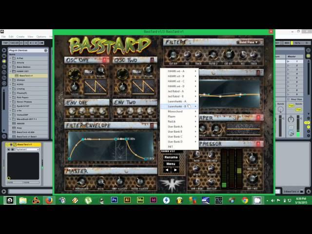 Basstard VST - Dynamic Bass Synthersizer Virtual Instrument by Hawk VST