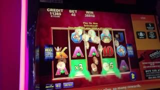 Dragon Empire 45 cent bet 1074x  Bonus Win at Mohegan Sun!!!