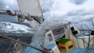 真冬の日本海530マイルヨット回航