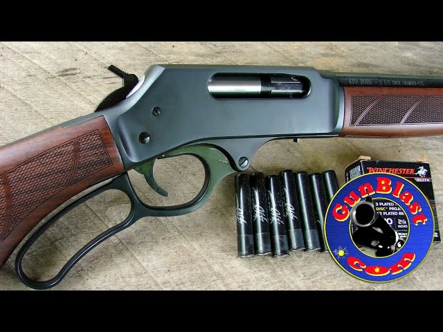 Gunblast.com Review the .410 Lever Action Shotgun