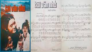 🎵 Tôi Vẫn Nhớ (Ngân Giang) Elvis Phương, Sơn Ca Pre 1975   Tờ Nhạc Xưa
