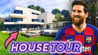 Lionel Messi   House Tour   $7 Million Barcelona Mansion