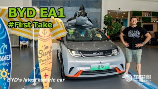 The BYD EA1 (Dolphin) Is A Funky All-Electric City Car