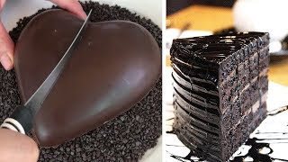 10+ Chocolate Cake Decorating Ideas For Holiday | So Yummy Chocolate Cake Decorating Compilation