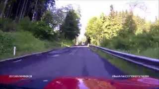 preview picture of video 'Villach to Kranjska Gora 06 June 2013 (Rollei CarDVR-110)'