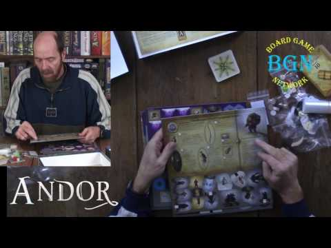 Legends of Andor Part II Journey to the North Unboxing
