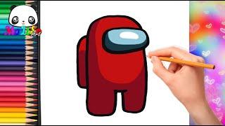 Как нарисовать Амонг Ас (Among Us) | How to Draw AMONG US Game Character | Як намалювати Амонг Ас