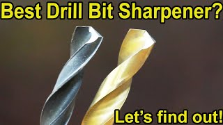 Which Drill Bit Sharpener is Best? Let's find out!  Chicago Electric, Drill Doctor, Bosch, Goodsmann