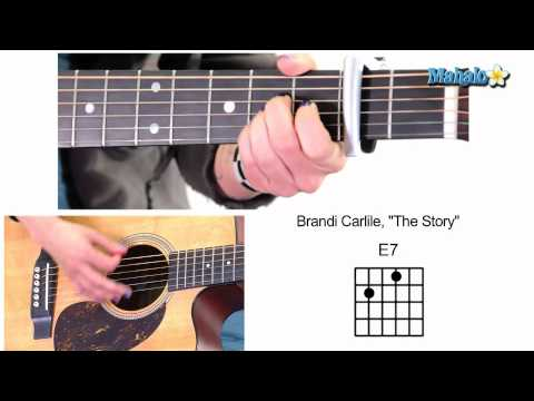 "How to Play ""The Story"" by Brandi Carlile on Guitar"