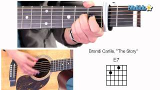 """How to Play """"The Story"""" by Brandi Carlile on Guitar"""
