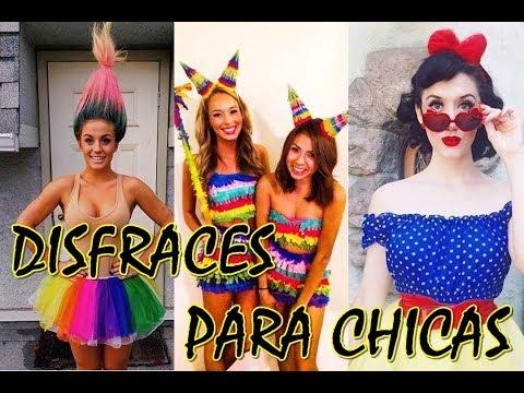 DISFRACES ORIGINALES Y FÁCILES DE HACER PARA CHICAS | DISFRACES PARA CHICAS