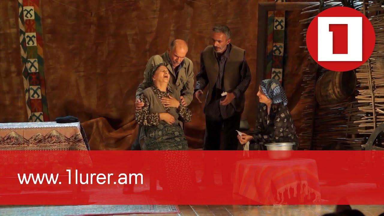 First post-war tours of Stepanakert Theater