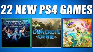 22 NEW PS4 GAMES COMING SOON THIS WEEK (Playstation News)