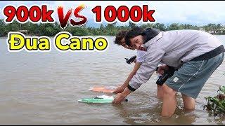 Lâm Vlog - Thử Đua Cano Điều Khiển Từ Xa Giá 950k vs 1050k | FT009 vs FT016