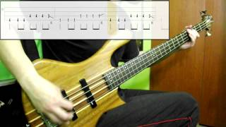 Nirvana - Smells Like Teen Spirit (Bass Cover) (Play Along Tabs In Video)