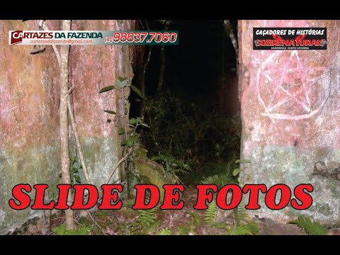 Slide de fotos da investigação CASA BRANCA