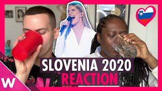 "Ana Soklič ""Voda"" (Slovenia Eurovision 2020) Reaction"