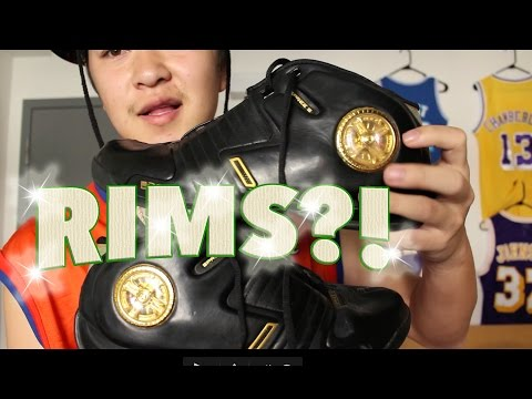 Shoes with RIMS?! Latrell Sprewell & Dada Supreme Spree Spinners Shoe Review Unboxing Rare Cool