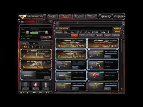 Major Silver 2 VIP Barrett Iron Shark and M4A1 Iron Beast (For Trade