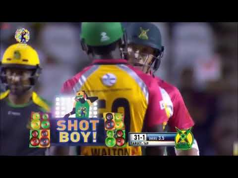 CPL 2017 Eliminator 1 Full highlights  Jamaica Tallawahs vs Guyana Amazon Warriors