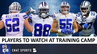 Cowboys Training Camp: Top Players To Watch Ft. Trevon Diggs, Jourdan Lewis & Leighton Vander Esch