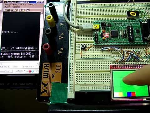 test for Cortex m3 STM32F103RE with 320x 240 tft lcd module