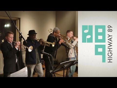 """BYU Jazz Band ft. Lucien Barbarin and Gregg Stafford - """"High Society"""" LIVE in-studio on H89"""