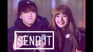 💓Lizkook💓 Lisa (blackpink) & Jungkook (bts) • send it • [fmv]