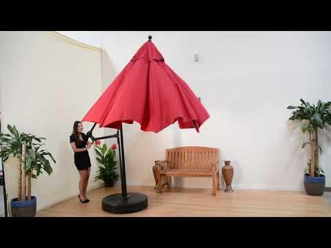 Galtech Cantilever Patio Market Umbrellas