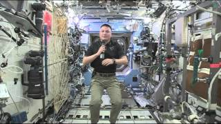 Space kaarten, Aboard the International Space Station Expedition..
