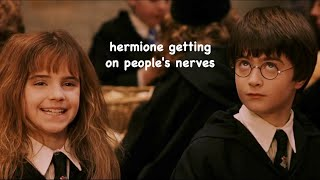 Hermione Granger Annoying People For 3 Minutes Straight