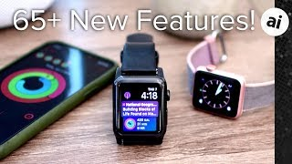65+ New Features in watchOS 5 for Apple Watch!