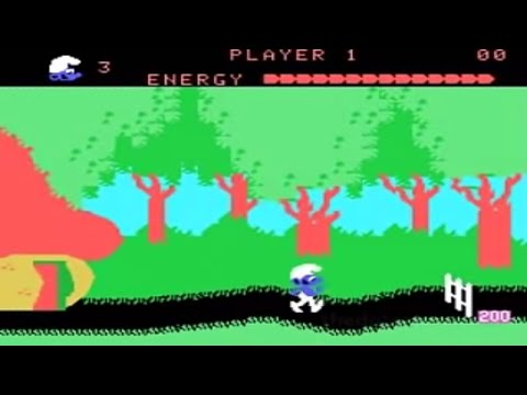 Today's Punishment: 3 Minutes Of ColecoVision Smurf Gameplay