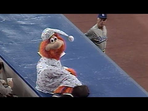 The only time a mascot was thrown out of a MLB game.