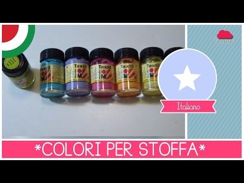 Dipingere su stoffa: quali colori scegliere e come orientarsi