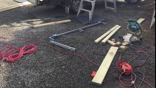 Finishing Off A DIY Project In Mclaren Flat - Nathan Thomas Carpenter Builder