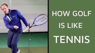 How Golf Is Like Tennis
