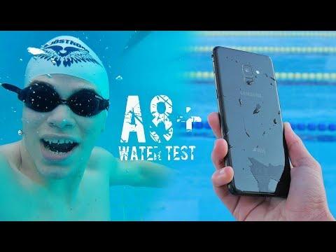 اختبار A8Plus 2018 تحت الماء