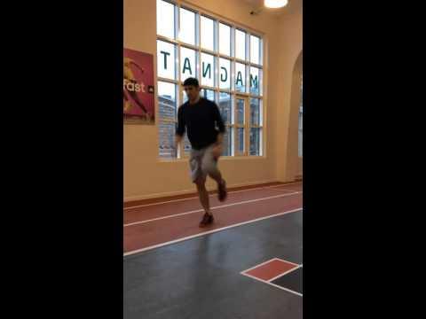 Single Leg Deadlift with knee drive. VERY NICE VIDEO