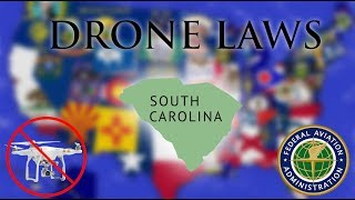 Where Can I Fly in South Carolina? - Every Drone Law 2019 - Charleston and Greenville (Episode 40)
