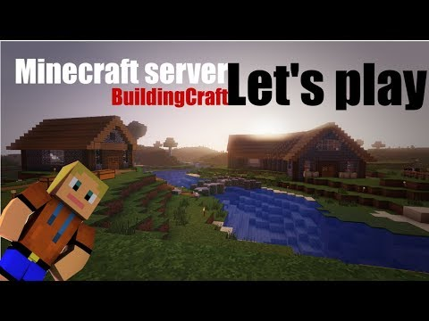 DukyLP Minecraft server BuildingCraft 3 - Vánoce !!!