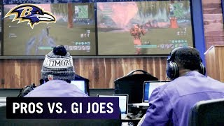 Ravens Squad Up w/ Soldiers in Fortnite | Pros vs. GI Joes