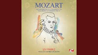 "Divertimento in F Major, K. 138 ""Salzburg Symphony No. 3"": II. Andante"