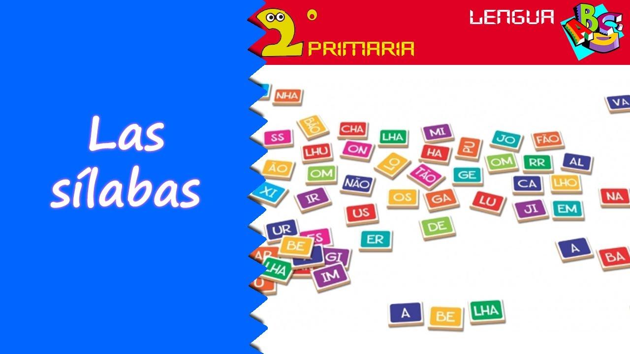 Lengua, 2º Primaria.  Tema 3. Las sílabas