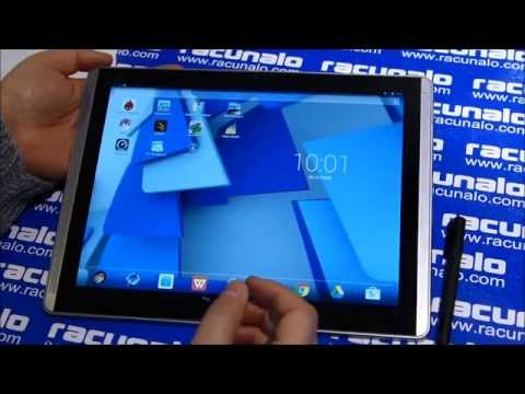 HP Pro Slate 12 - video test (12.02.2015)